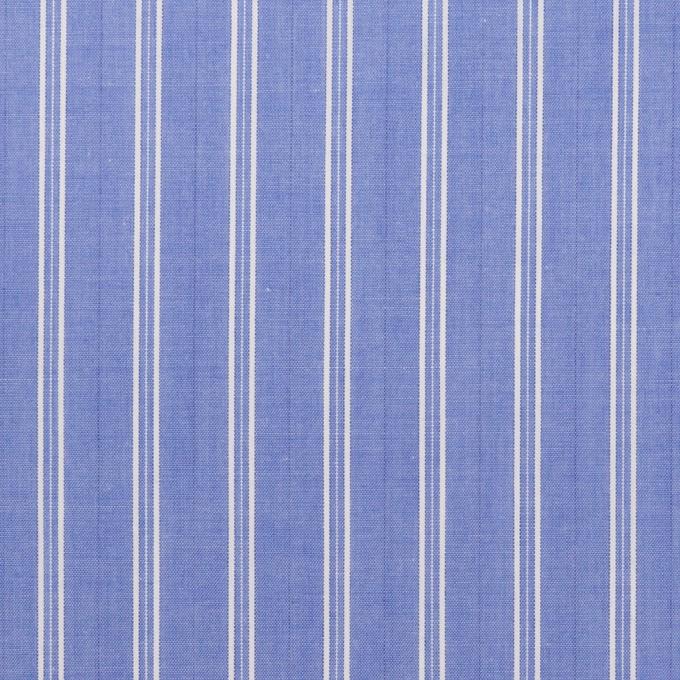 コットン×ストライプ(ヒヤシンスブルー)×ローン イメージ1