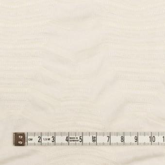 コットン&レーヨン×幾何学模様(バニラ)×ジャガードニット_全2色 サムネイル4