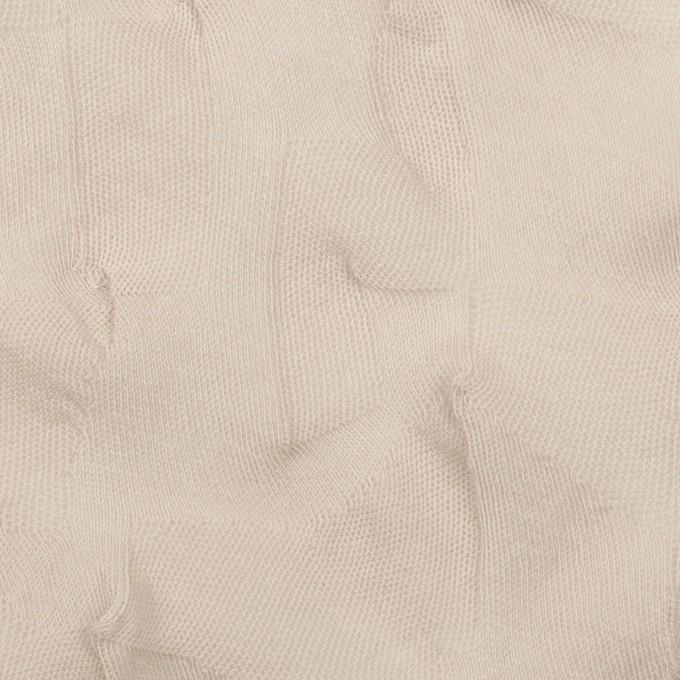 コットン×幾何学模様(グレイッシュベージュ)×ジャガードニット_全3色 イメージ1