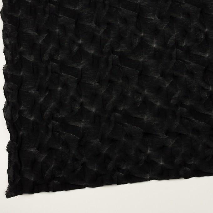 コットン×幾何学模様(ブラック)×ジャガードニット_全3色 イメージ2
