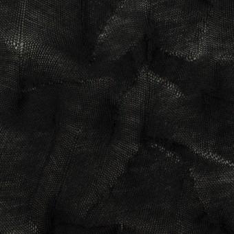 コットン×幾何学模様(ブラック)×ジャガードニット_全3色