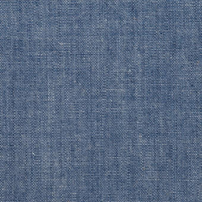 コットン×無地(インディゴブルー)×セルビッチダンガリー イメージ1