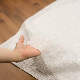 コットン×フラワー(オフホワイト&オフホワイト)×ボイルシャーリング刺繍_全3色 サムネイル5