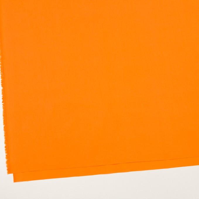 コットン×無地(オレンジ)×ローン イメージ2