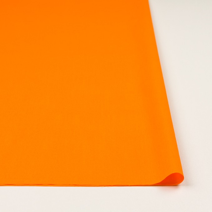 コットン×無地(オレンジ)×ローン イメージ3