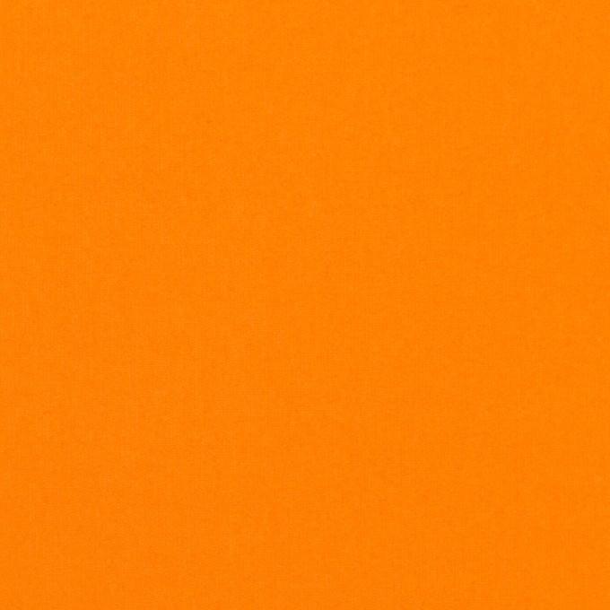 コットン×無地(オレンジ)×ローン イメージ1