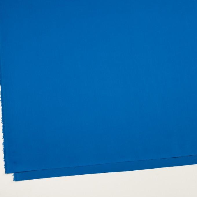 コットン×無地(ブルー)×サテン イメージ2