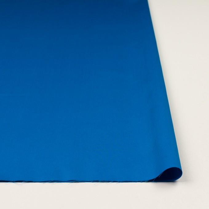 コットン×無地(ブルー)×サテン イメージ3