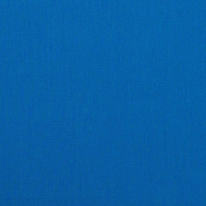 コットン×無地(ブルー)×サテン イメージ1