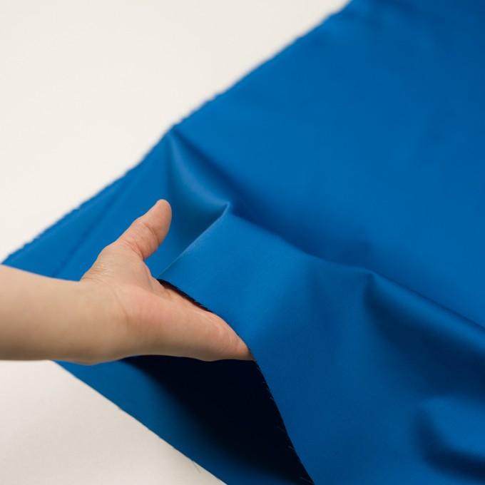 コットン×無地(ブルー)×サテン イメージ5