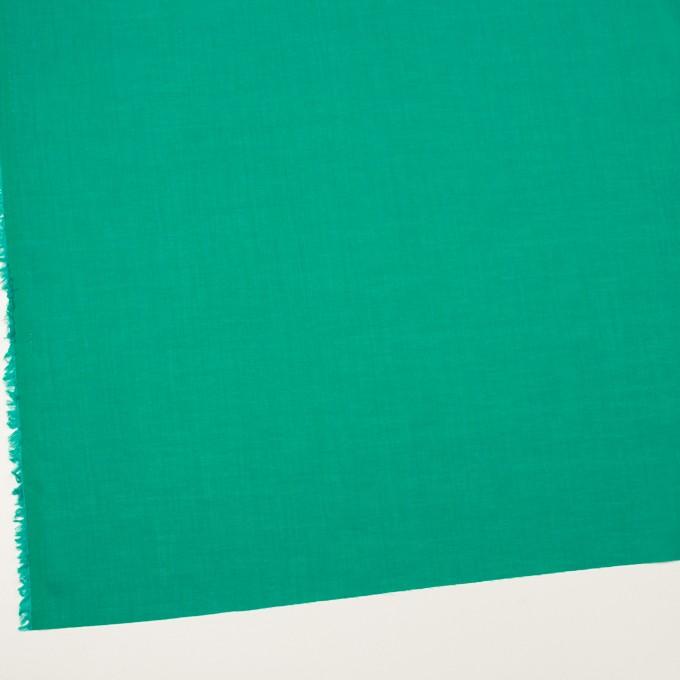 コットン&テンセル×無地(エメラルドグリーン)×ボイル イメージ2