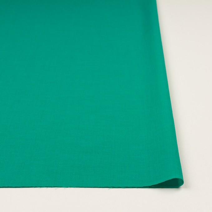コットン&テンセル×無地(エメラルドグリーン)×ボイル イメージ3