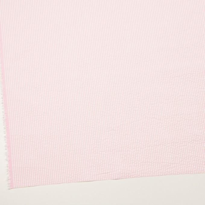 コットン×ストライプ(ピンク)×サッカー_全3色 イメージ2