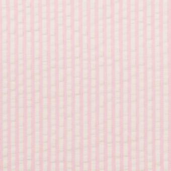 コットン×ストライプ(ピンク)×サッカー_全3色 サムネイル1