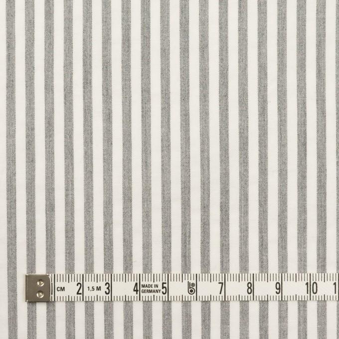 コットン&ポリウレタン×ストライプ(グレー)×サッカーストレッチ_全3色 イメージ4