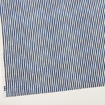 コットン×ストライプ(ブルー)×ローンサッカー_全2色 サムネイル2