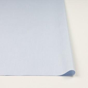 コットン×無地(ペールブルー)×斜子織 サムネイル3
