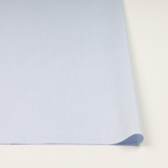 コットン×無地(ペールブルー)×斜子織 イメージ3