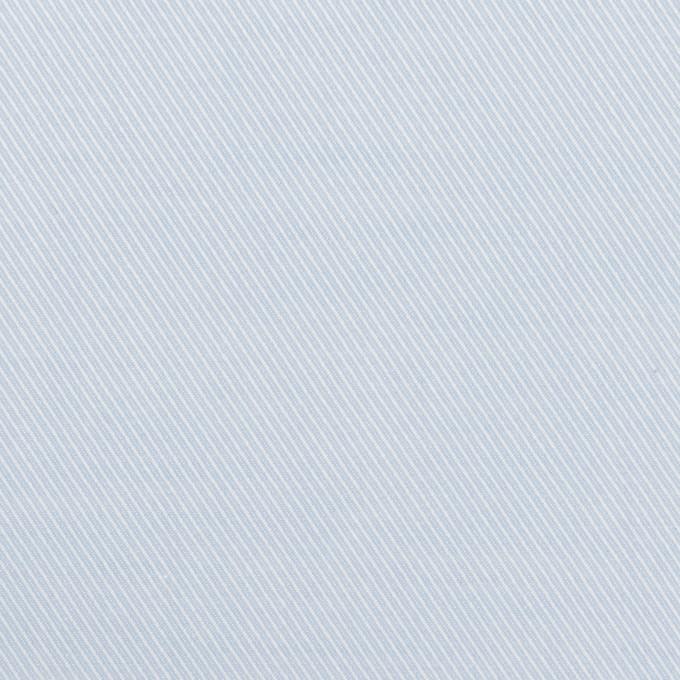 コットン×無地(ペールブルー)×サージ イメージ1