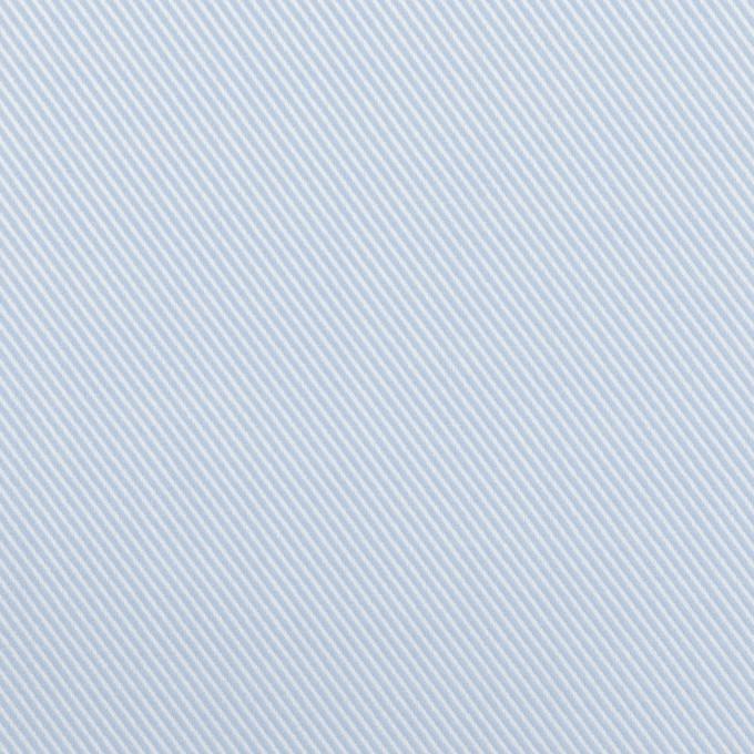 コットン×無地(サックス)×ジャガード イメージ1