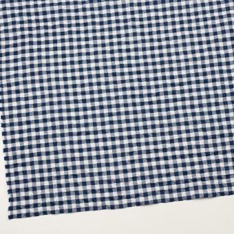 コットン&ポリエステル混×チェック(ネイビー)×ローンシャーリング_全2色 サムネイル2