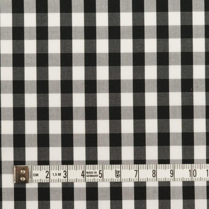 コットン×チェック(ブラック)×ブロード イメージ4