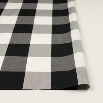 コットン×チェック(ブラック)×ブロード_全2色 サムネイル3