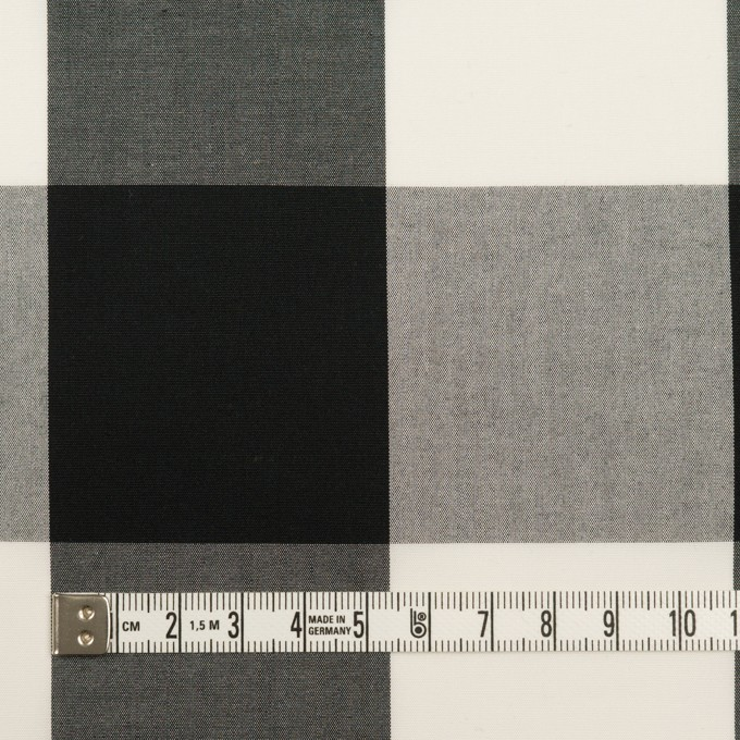 コットン×チェック(ブラック)×ブロード_全2色 イメージ4