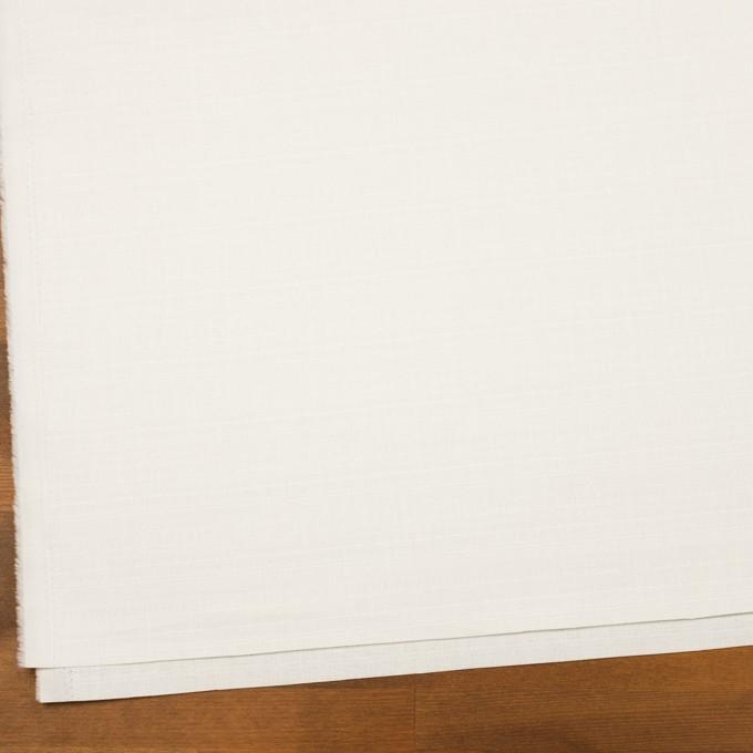 コットン&ポリウレタン×無地(オフホワイト)×ブッチャー・ストレッチ_全3色 イメージ2