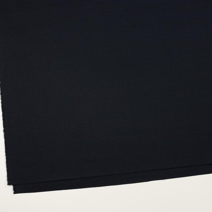 コットン&ポリウレタン×無地(ダークネイビー)×ブッチャー・ストレッチ_全3色 イメージ2
