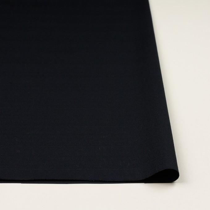 コットン&ポリウレタン×無地(ダークネイビー)×ブッチャー・ストレッチ_全3色 イメージ3
