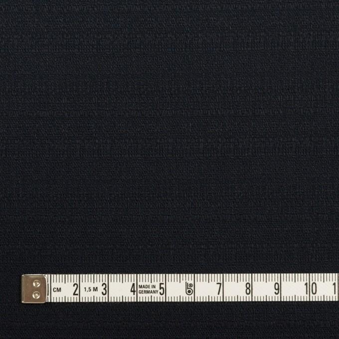 コットン&ポリウレタン×無地(ダークネイビー)×ブッチャー・ストレッチ_全3色 イメージ4