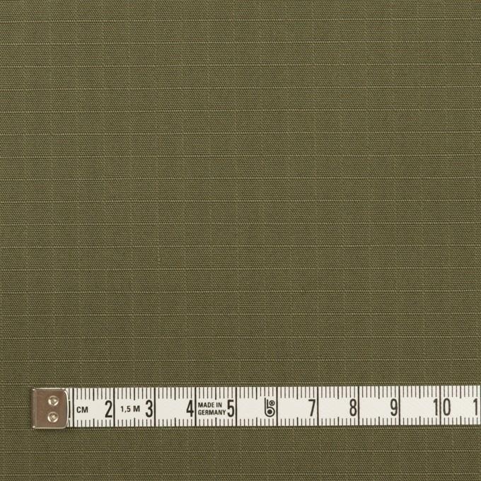 コットン×無地(アッシュカーキグリーン)×リップストップ イメージ4