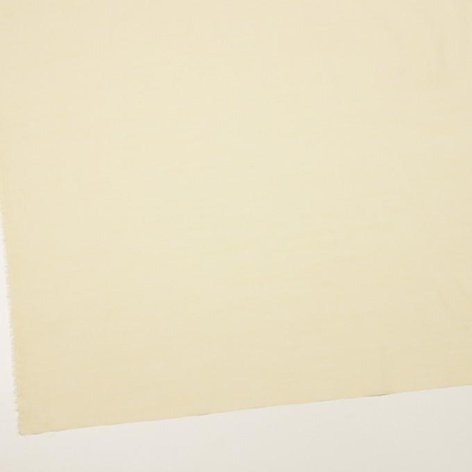 コットン&レーヨン×無地(クリームイエロー)×シャンブレー・ローン イメージ2