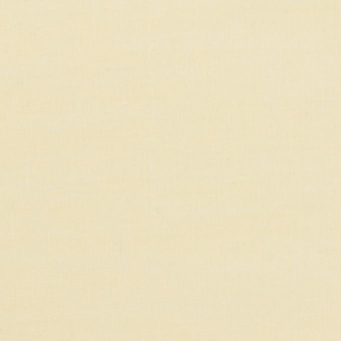 コットン&レーヨン×無地(クリームイエロー)×シャンブレー・ローン イメージ1