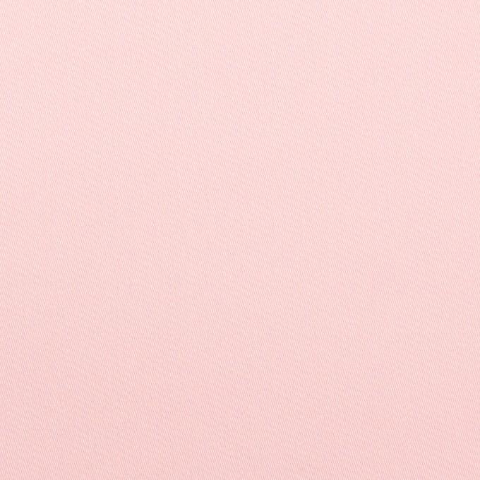 コットン×無地(パウダーピンク)×サテン イメージ1