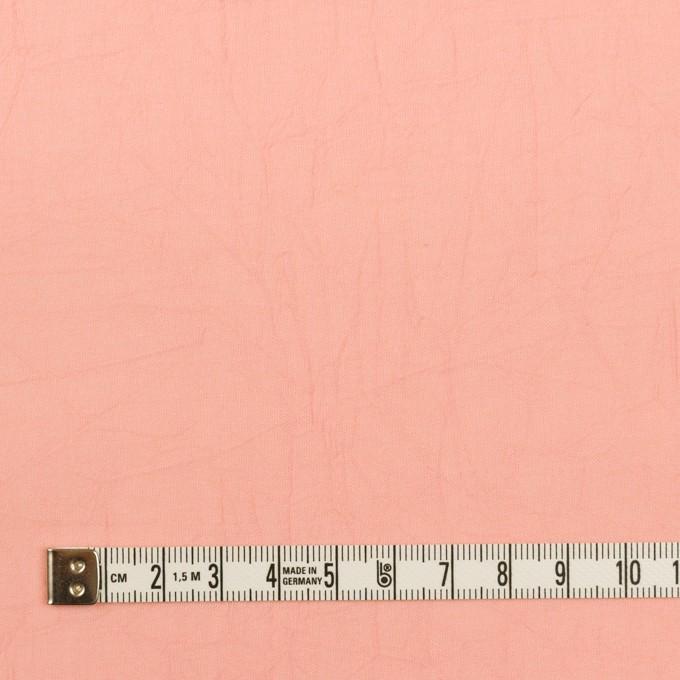 コットン×無地(ピーチ)×ボイルワッシャー イメージ4