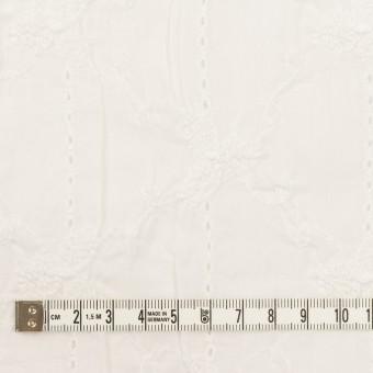 コットン×フラワー(オフホワイト)×ボイルシャーリング刺繍 サムネイル4
