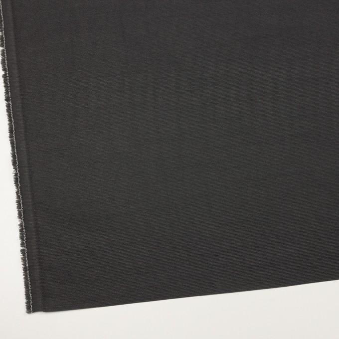 シルク&レーヨン混×無地(チャコールグレー)×オーガンジー・ジャガード イメージ2