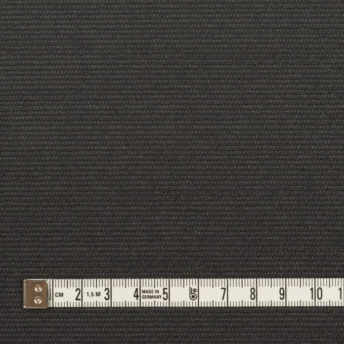 シルク&レーヨン混×無地(チャコールグレー)×オーガンジー・ジャガード イメージ4