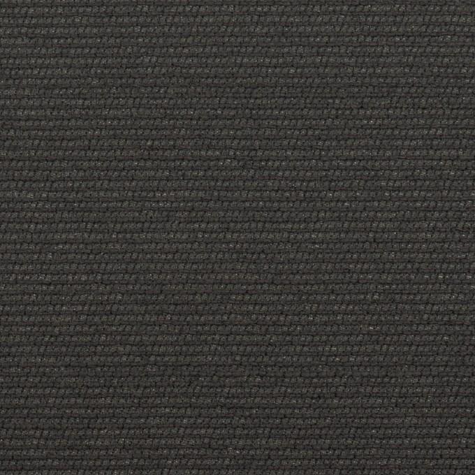 シルク&レーヨン混×無地(チャコールグレー)×オーガンジー・ジャガード イメージ1