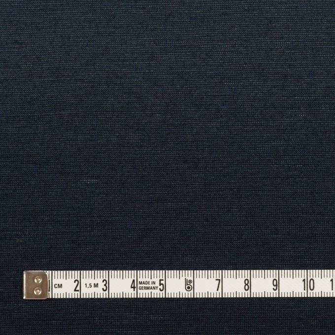 コットン&リネン×無地(ネイビー)×天竺ニット_全2色 イメージ4
