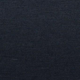 コットン&リネン×無地(ネイビー)×天竺ニット_全2色