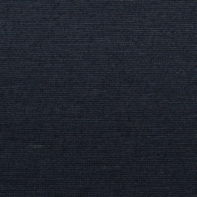 コットン&リネン×無地(ネイビー)×天竺ニット_全2色 イメージ1