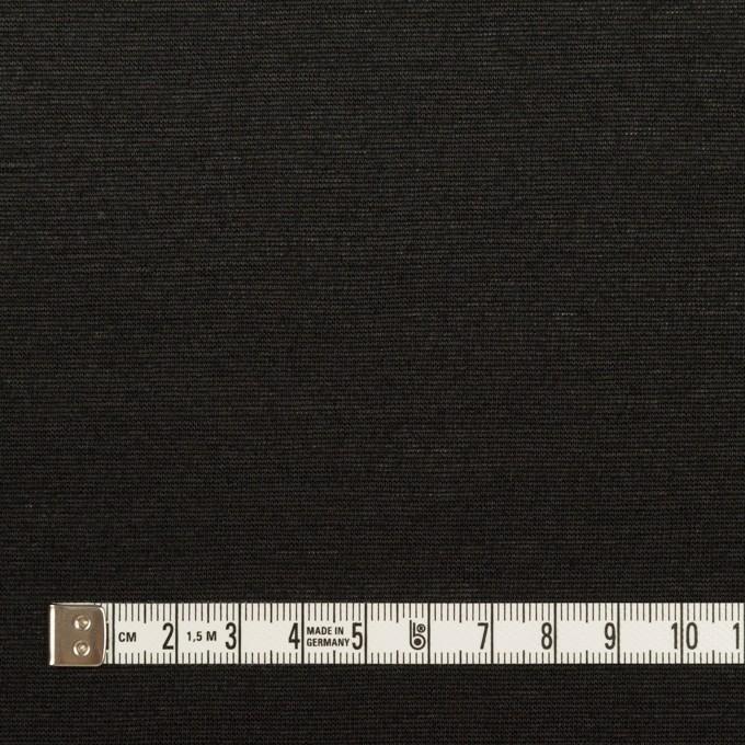 コットン&リネン×無地(ブラック)×天竺ニット_全2色 イメージ4