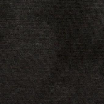 コットン&リネン×無地(ブラック)×天竺ニット_全2色