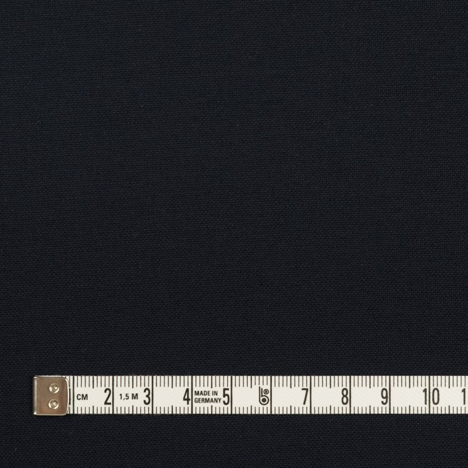 コットン×無地(ダークネイビー)×オックスフォード イメージ4