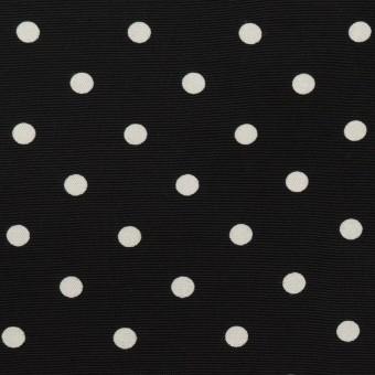 レーヨン×ドット(ブラック)×ローン サムネイル1