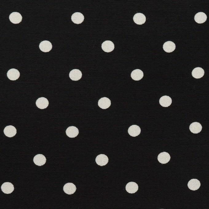 レーヨン×ドット(ブラック)×ローン イメージ1