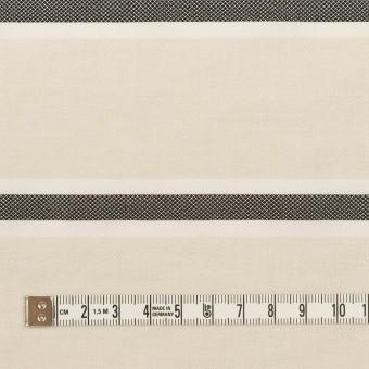 ポリエステル&コットン×ボーダー(アイボリー)×ジャガード_全2色 サムネイル4